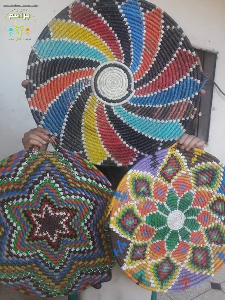 Together to revive the heritage. The straw industry (profession of grandmothers) Baraem Association معا لاحياء التراث صناعة القش (مهنة الجدات) جمعية براعم